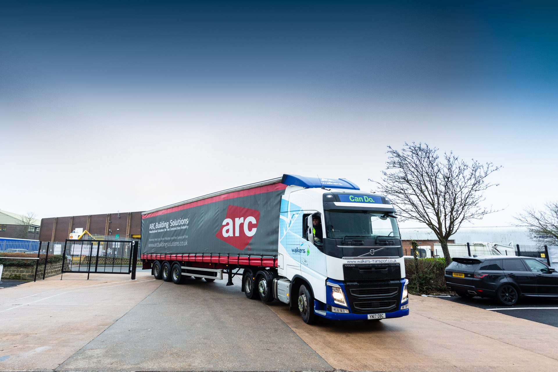 Arc Building Solutions Lorry